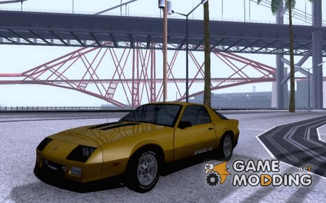Chevrolet Camaro IROC-Z (1989) Reskinned для GTA San Andreas