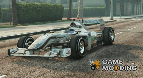 Mercedes-Benz F1 v1.1 for GTA 5