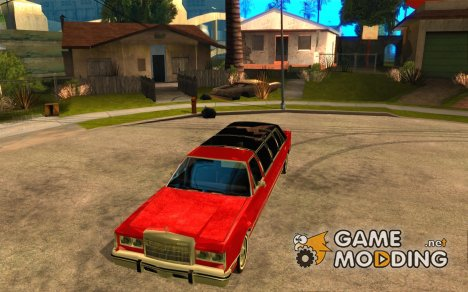 Lincoln Town Car 1986 Limo for GTA San Andreas