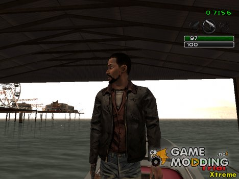 Lee Everett в куртке for GTA San Andreas