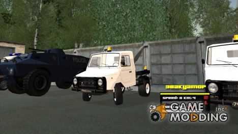 ЛуАЗ 13021 Эвакуатор for GTA San Andreas