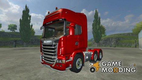 Scania R730 V8 Topline v2.2 for Farming Simulator 2013