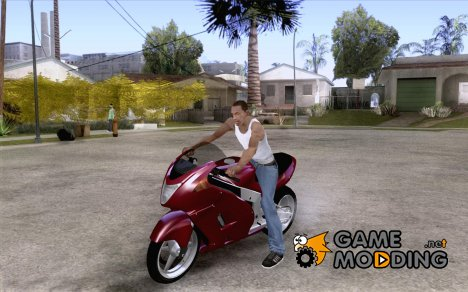 GTAIV TLAD Hakuchou Custom Version-Without Custom Paintjob для GTA San Andreas