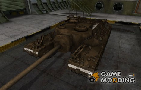 Скин в стиле C&C GDI для T95 для World of Tanks
