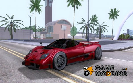 Pagani Zonda F Draggy for GTA San Andreas