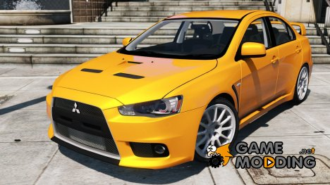 Mitsubishi Lancer Evo X for GTA 5