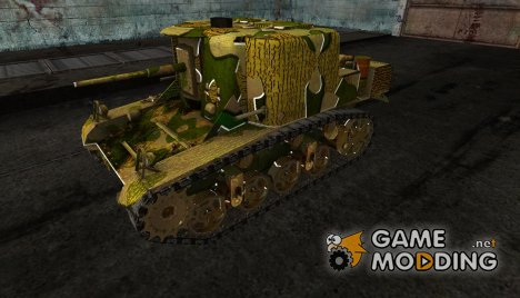 Шкурка для T18 for World of Tanks