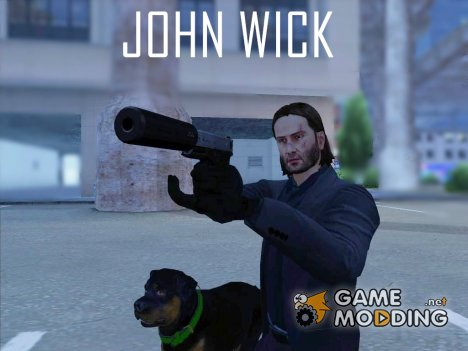 John Wick - Payday 2 (No Glass) for GTA San Andreas