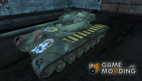 Шкурка аниме для Bat Chatillon 25t для World of Tanks