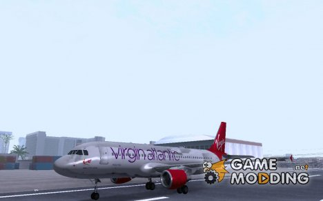 Airbus A320-211 Virgin Atlantic для GTA San Andreas