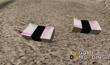 Евро банкноты for GTA 4