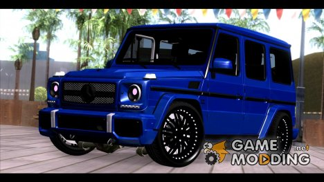 Merсedes-Benz G65 AMG for GTA San Andreas