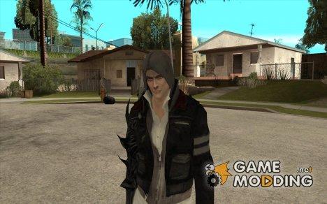 Alex Mercer c клинком for GTA San Andreas