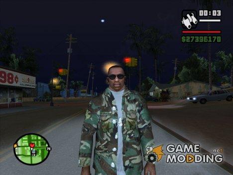 Пак камуфляжной одежды for GTA San Andreas