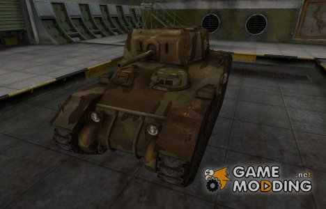 Шкурка для американского танка Ram-II for World of Tanks