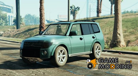 Mitsubishi Pajero 2007 LWB for GTA 5