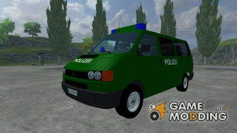 Volkswagen Transporter T4 Police for Farming Simulator 2013