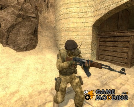 Old US Desert for Counter-Strike Source