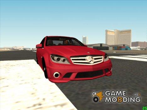 Mercedes-Benz C 350 для GTA San Andreas