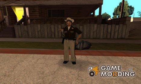 Cop girl for GTA San Andreas