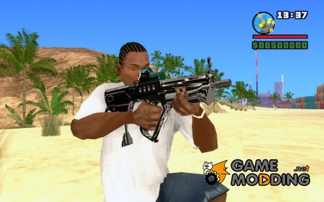 New MP5 для GTA San Andreas