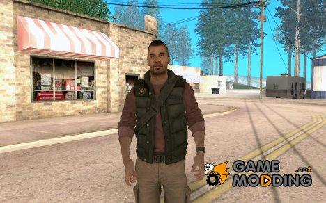 Салазар в гражданском для GTA San Andreas