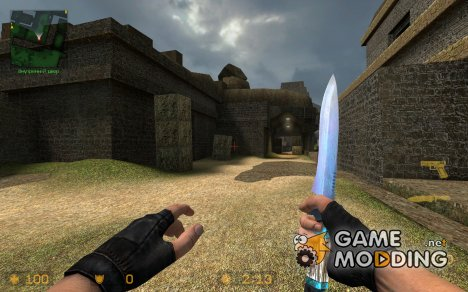 Damascus Knife Reskin Version 2 for Counter-Strike Source