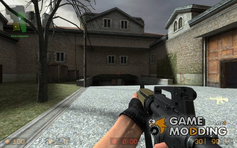 M4a1 Cqbr для Counter-Strike Source