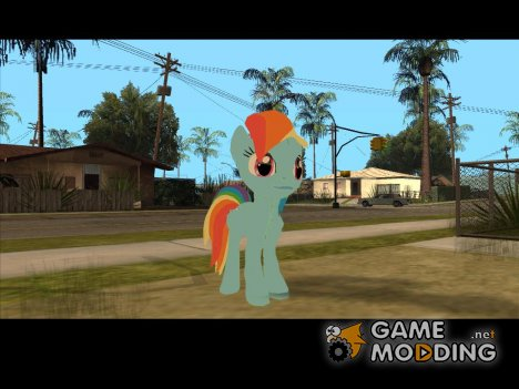 Rainbow Dash (My Little Pony) for GTA San Andreas