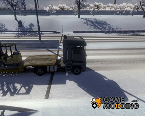Winter mod for Euro Truck Simulator 2