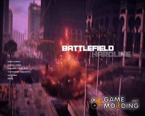 Анимированный задний фон для CS:S v34 в стиле Battlefield Hardline for Counter-Strike Source