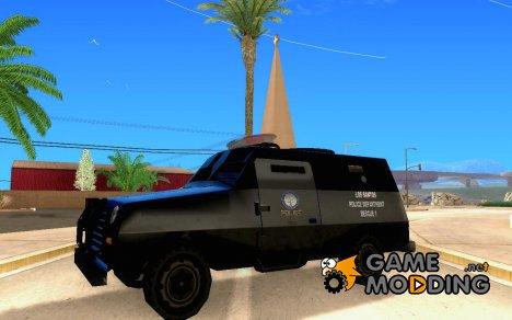New fbitruck для GTA San Andreas