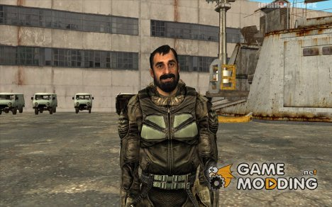 "Вано в комбинезоне ""СЕВА"" из S.T.A.L.K.E.R. для GTA San Andreas"