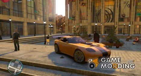 Banshee GTR для GTA 4