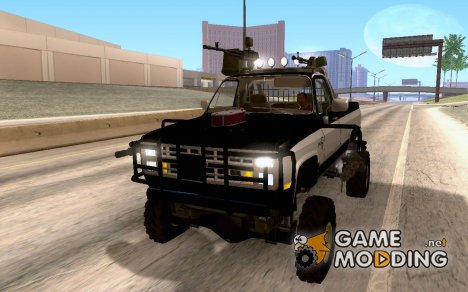 Chevrolet Silverado Destroyer для GTA San Andreas