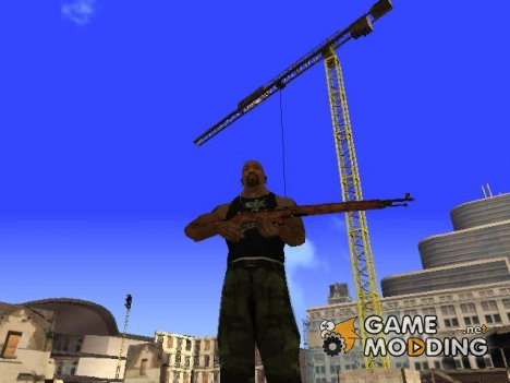 Винтовка Мосина для GTA San Andreas