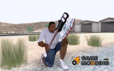 Axe Guitar for GTA San Andreas