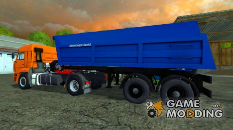СЗАП 9517 для Farming Simulator 2015