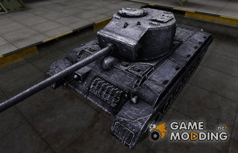 Темный скин для T23 для World of Tanks