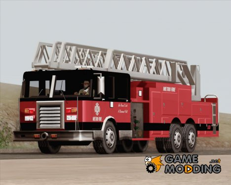 New Firetruck LA - LSFD Ladder 33 для GTA San Andreas