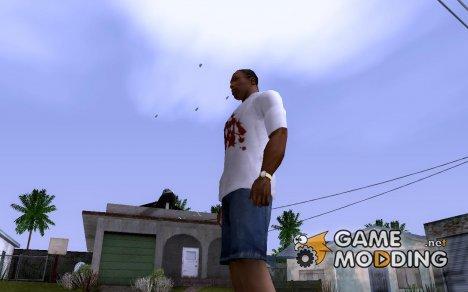 Комары вокруг CJ для GTA San Andreas