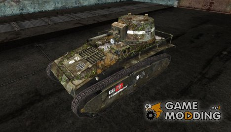 Шкурка для Leichtetraktor для World of Tanks