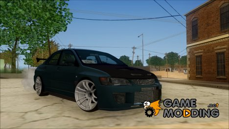 Mitsubishi Lancer Evolution v2 for GTA San Andreas