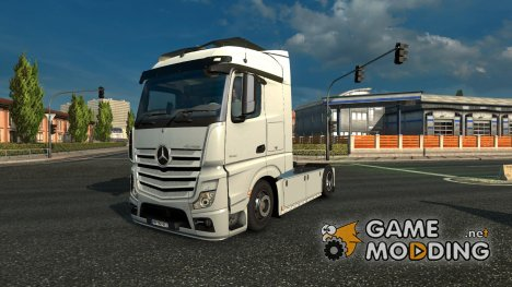 Mercedes Benz New Actros Rework V1.0 для Euro Truck Simulator 2
