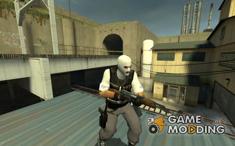 Crip Makaveli Soldier для Counter-Strike Source