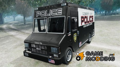 Boxville Police for GTA 4