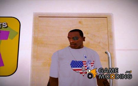 "Футболка со ""Дня независимости"" v1 (GTA Online) for GTA San Andreas"