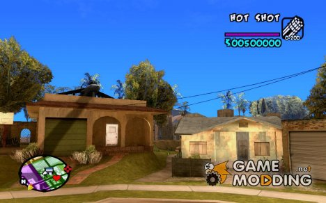HUD by Hot Shot v.2.2 for SAMP для GTA San Andreas
