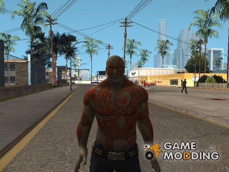 Drax guardins of galaxy для GTA San Andreas