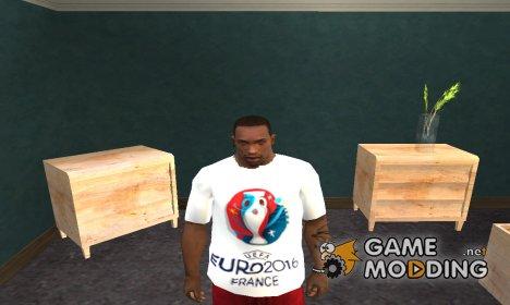EURO 2016 T-Shirt для GTA San Andreas